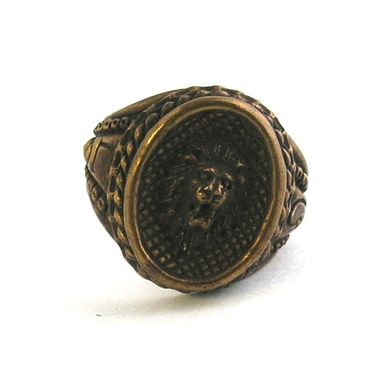 Custom Made Zodiac Bronze Rings