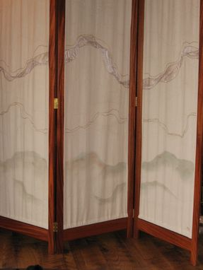 Custom Made Room Divider Screen