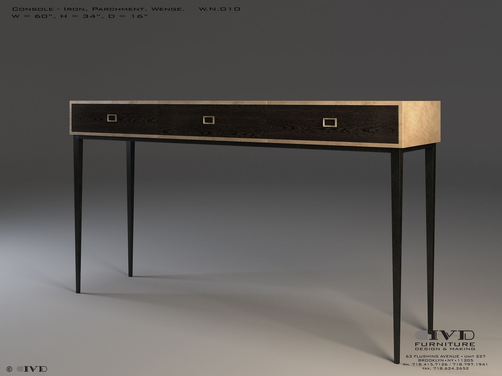 Handmade Console Table By Ivy Design Custommadecom - Picture-table-by-ivydesign