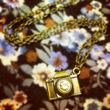 Custom Made Miniature Dslr Camera Necklace