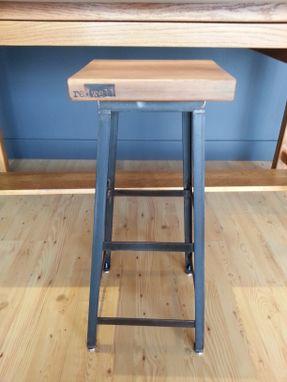 Admirable Re Dwell Industrial Stool Customarchery Wood Chair Design Ideas Customarcherynet