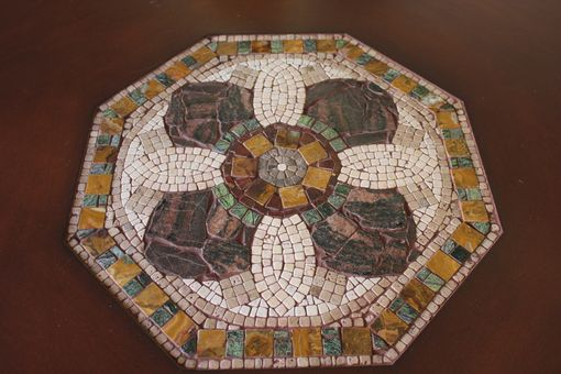 Custom Made 'Octagon' Mosaic Table