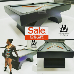 Pool Table Designs mitchell pool tables the nautilus Arched Pooltable Billiards Game Easter Promo Pool Table Sale By Mccorkle Designs