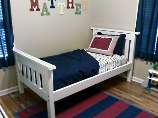 Custom Made Mission Style Bunk Beds