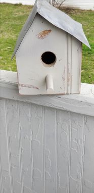 Custom Made Folk Art Reclaimed Birdhouses