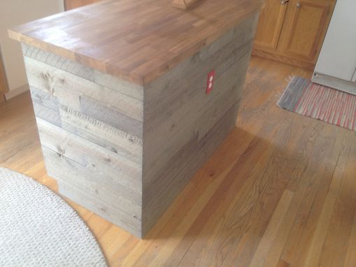 Custom Made Barnwood Island Wrap