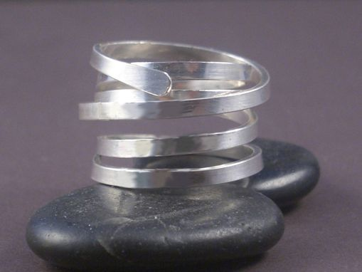 Custom Made Mother's Ring In Sterling Silver