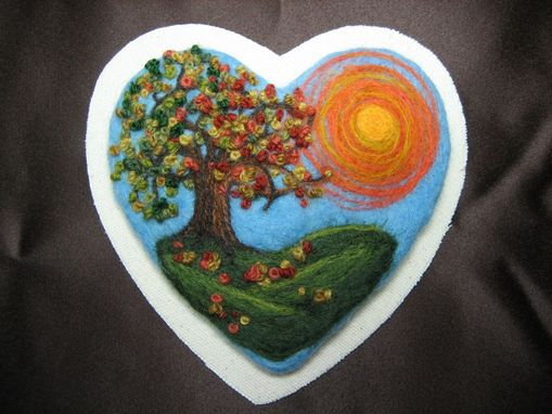 Custom Made Autumn Heart
