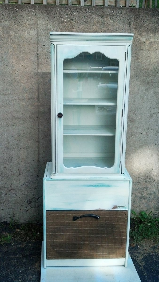 Antique China Hutch >> Custom Record Player And Old Cabinet Repurposed As Hutch by Tim Sway Perspectives | CustomMade.com
