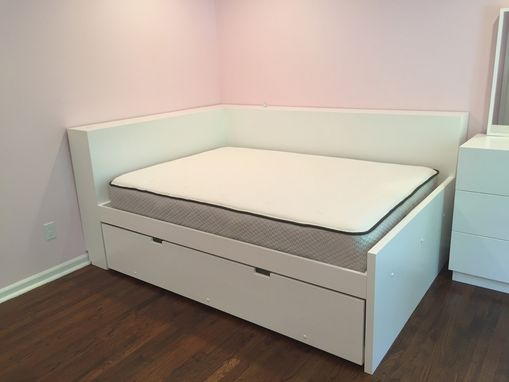 Custom Made Custom Bed With Trundle Bed