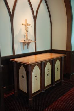 Custom Made Church Altar And Cross