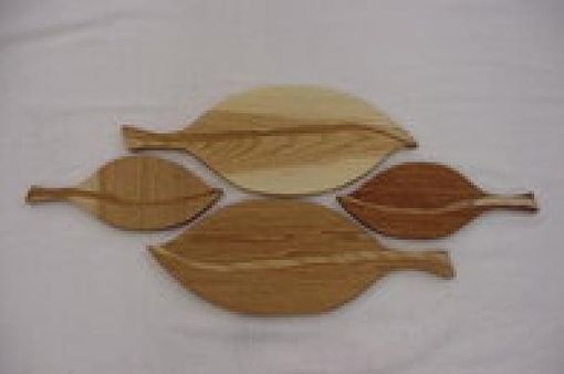 Custom Made Leif Shaped Cutting Board Set
