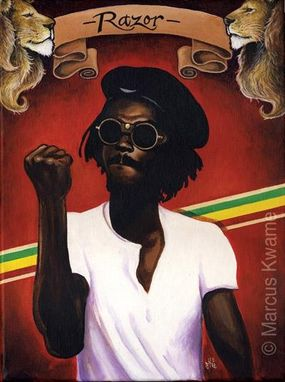 Custom Made Stepping Razor (Peter Tosh)