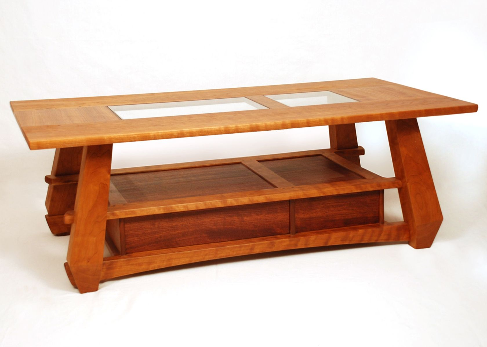 Handmade Cherry Coffee Table by Marrs Woodworking
