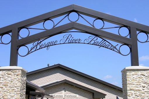 Custom Made Structural Steel Arch Sign