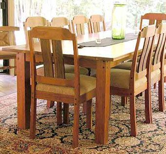 Custom Made Arts And Crafts Dining Set