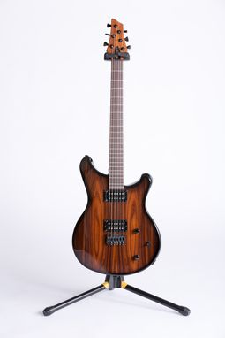 Custom Made Sinuous Sd-22 With Santos Palisander Top