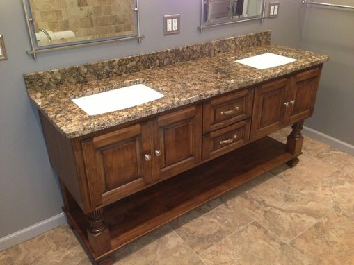 Custom Made Custom Alder Bath Vanity