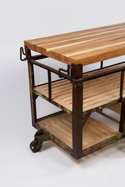 Buy A Handmade Kitchen Island Cart Made To Order From