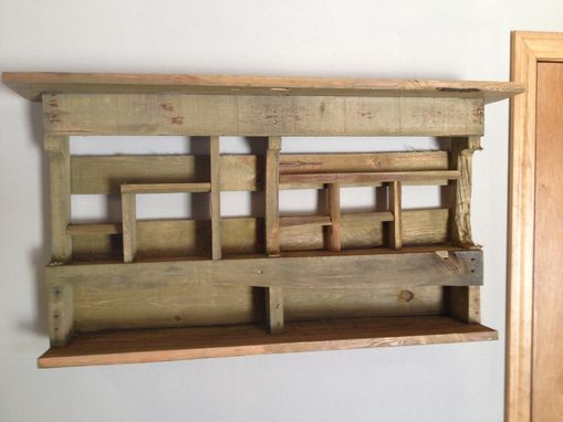 Custom Made Reclaimed Wood Shelves & Cubbies