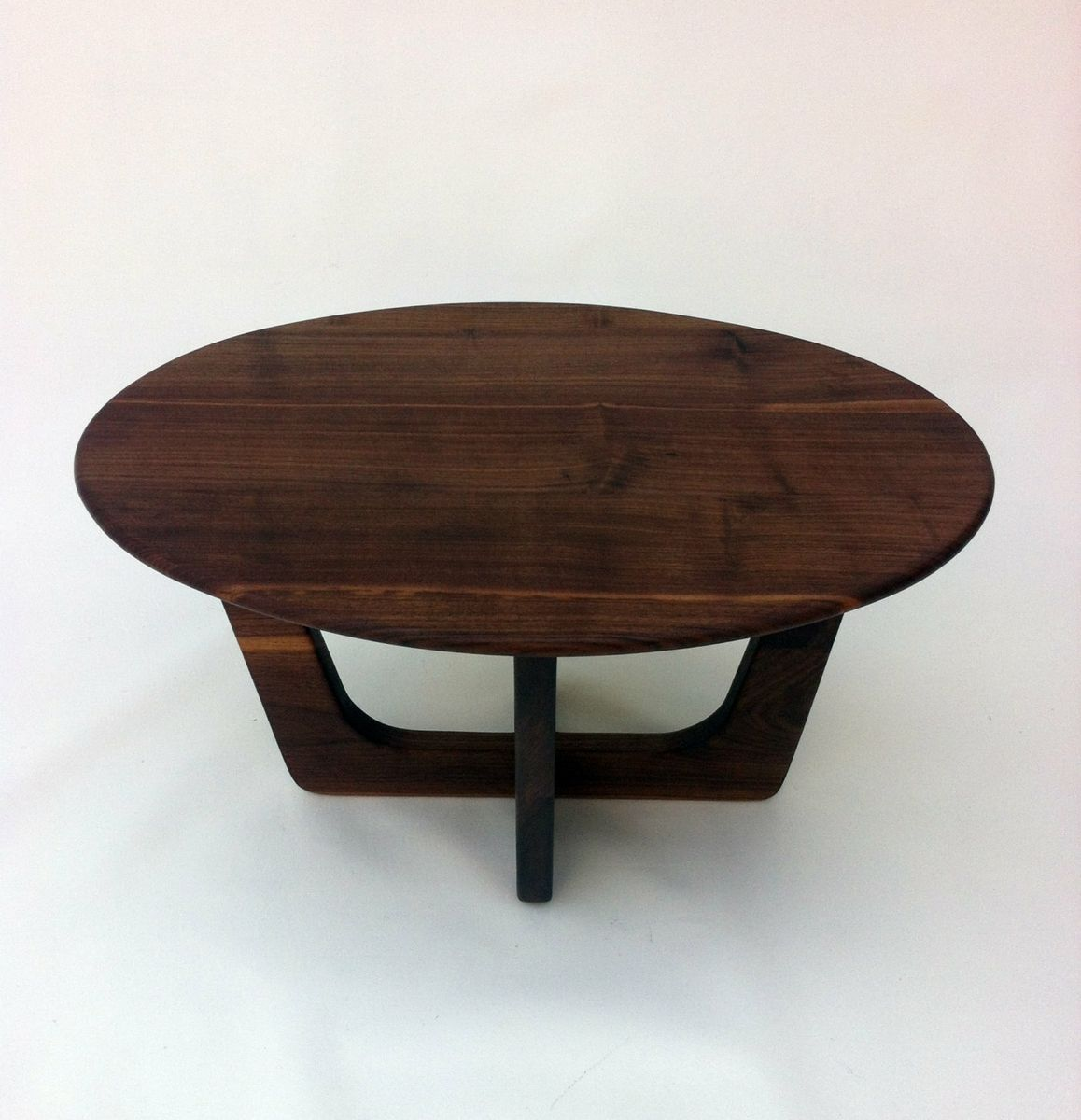 buy a hand made coffeecocktail table made from solid walnut in  - custom made coffeecocktail table made from solid walnut in atomic eraadrian pearsall inspired