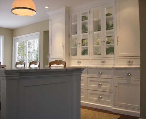 Custom Made Classic White Kitchen