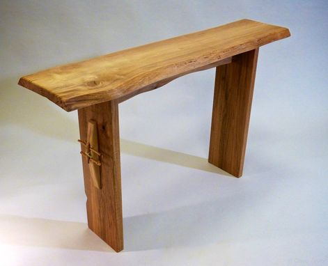 Custom Made Contemporary Rustic Entry Table