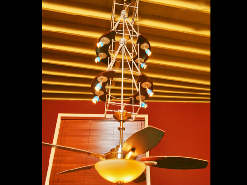 Custom Made Custom Modern Contemporary Lighting/Ceiling Fan Chandalier Design