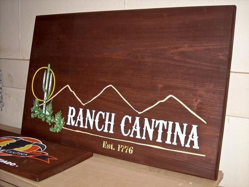 Custom Made Western Bbq Restaurant Signs