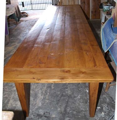 Custom Made Expandable Farmhouse Table