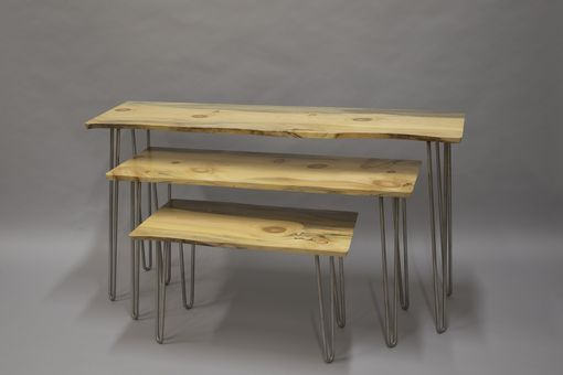 Custom Made Three Pine Tables