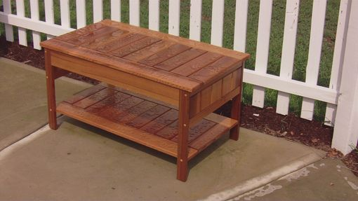Custom Made Cedar Patio Furniture