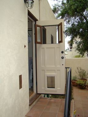 Custom Made Back Door