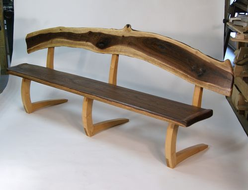 Custom Made Switchback Bench