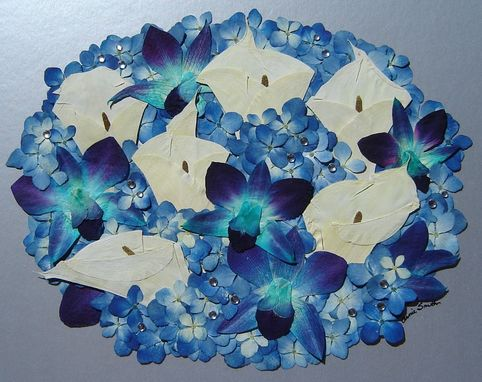 Custom Made Floral Preservation ~ Bridal Bouquets ~ Pressed Flower Art