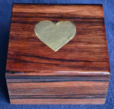 Custom Made Surprise Proposal Ring Box With