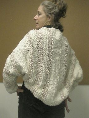 Custom Made Handmade Shrug