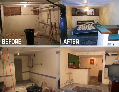 Custom Made Guest Room Remodel, Tile Mosaic And More-