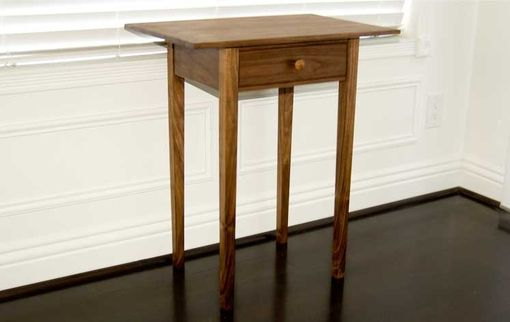 Custom Made Shaker Side Table - With Hand Fit Drawer
