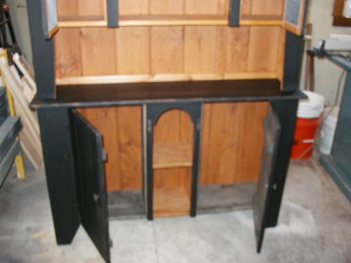 Custom Made Shaker Style Grand Hutch 74