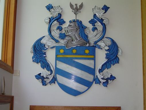 Custom Made Penzone Coat Of Arms
