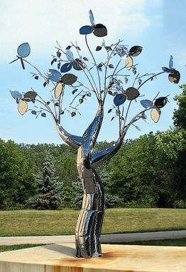 Custom Made Stainless Steel Kinetic Sculpture