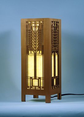 Custom Made Frank Lloyd Wright Lightbox