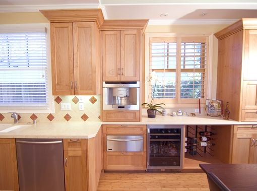 Custom Made Cherry Custom Cabinets