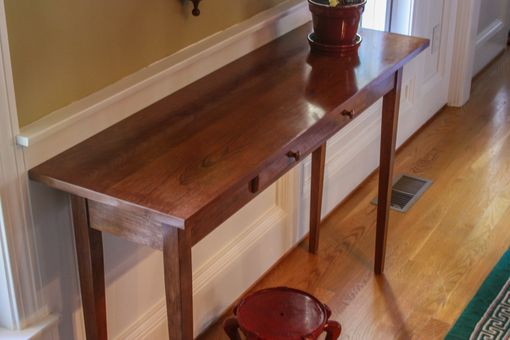 Custom Made Shaker Hall Table