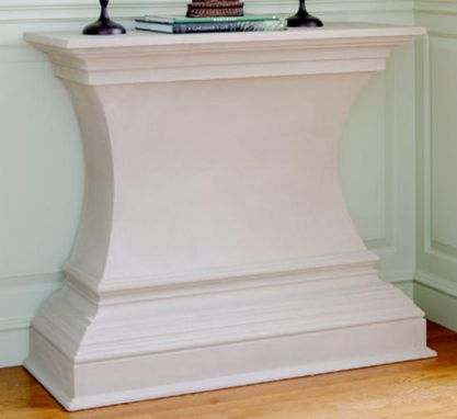 Custom Made Custom Designed Cast Stone Credenza In Scarsdale, Ny