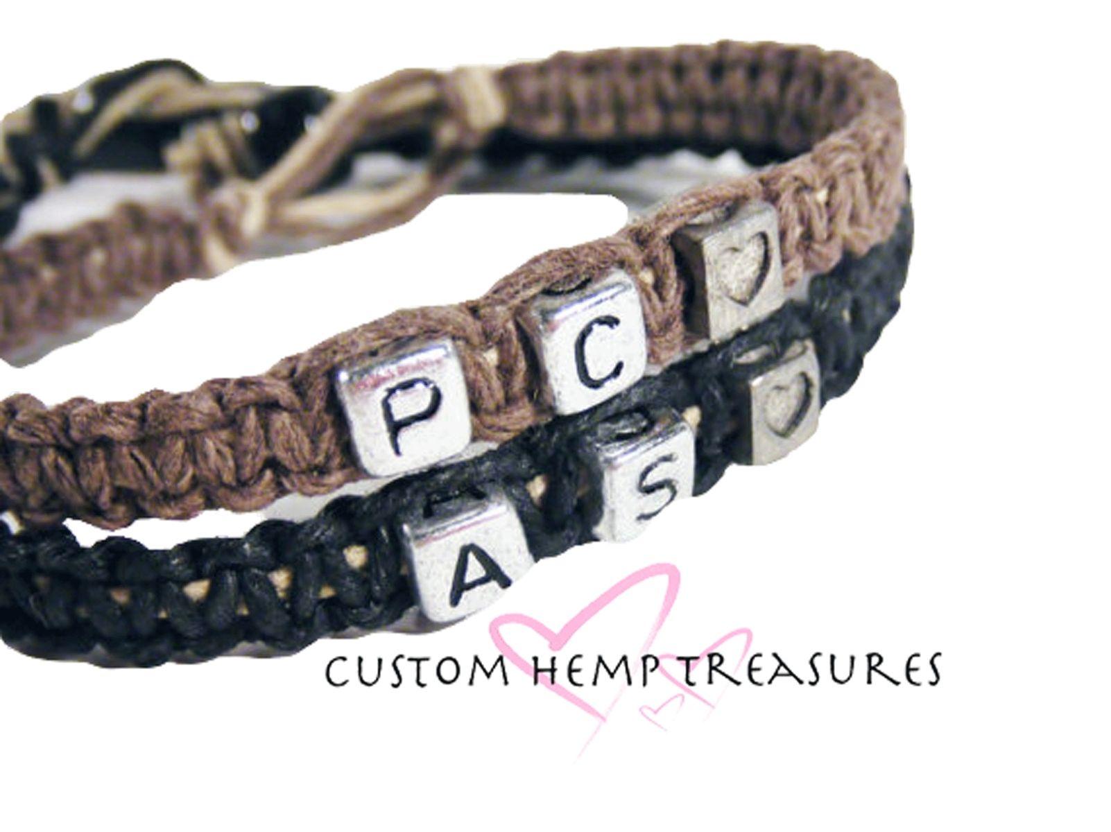Custom Made Initials Bracelets For S