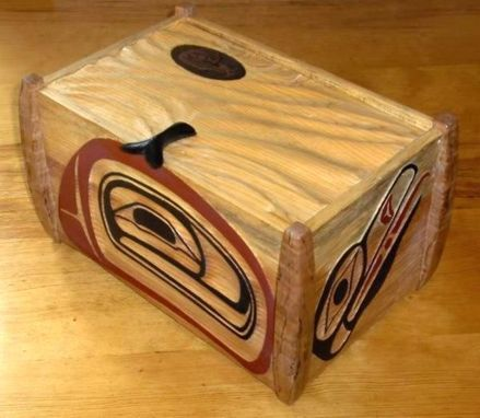 Custom Made Art Boxes, Carved And/Or Painted, Any Size