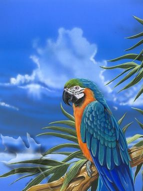 Custom Made The Blue Macaw