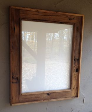Custom Made Reclaimed Chestnut Frames